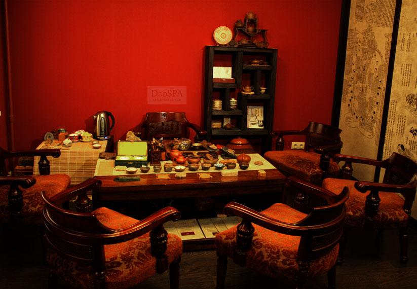 Чайная церемония в Клубе Традиций Китая